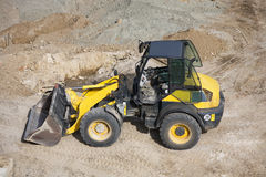 Small wheel loader Royalty Free Stock Photos