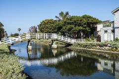 A small White bridge royalty free stock images