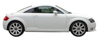 Small White Car Stock Photos