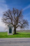 Small white chapel Royalty Free Stock Image