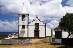 Small white church Stock Photos
