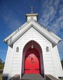 Small White Church Royalty Free Stock Image
