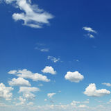 Small white clouds Royalty Free Stock Images
