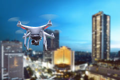 Small white drone Stock Photography