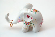 The small white elephant Royalty Free Stock Photography