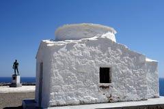 Small White Greek Church, Skyros, Stock Photos