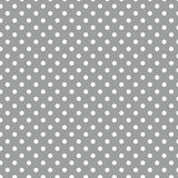 Small White Polka dots on Grey. Small White Polka dots textures on Grey background Royalty Free Stock Photography