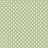 Small White Polka dots on Pastel green. Small White Polka dots textures on Pastel Green background Stock Image