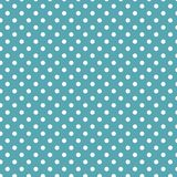 Small White Polka dots on Sea Blue. Small White Polka dots textures on Sea Blue background Royalty Free Stock Images