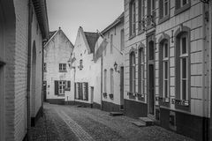 Thorn. Small white town in Limburg, Netherlands Royalty Free Stock Photos