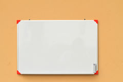 Small whiteboard Royalty Free Stock Image