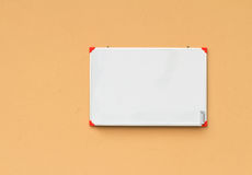 Small whiteboard Royalty Free Stock Images