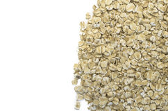 Small wholemeal oat flakes Stock Images