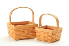 Small wicker basket Royalty Free Stock Photo