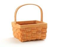 Small Wicker Basket Stock Image