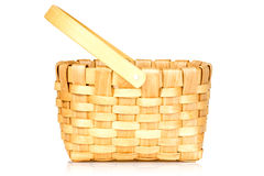Small wicker basket Stock Photo