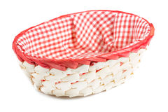 Small wicker basket Royalty Free Stock Photography