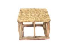 Small Wicker chair Thailand handmade Stock Photos