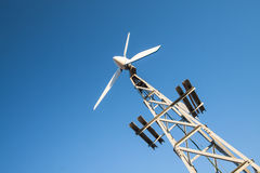 Small wind generator Royalty Free Stock Photo