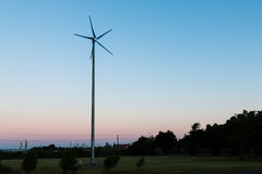 Small Wind Turbine Royalty Free Stock Photos
