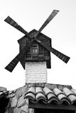 Small Windmill Model Stock Images