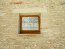 Small window Royalty Free Stock Photography