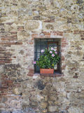 Small window in a wall Royalty Free Stock Photography
