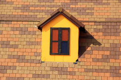 Small Windows  on The Roof Royalty Free Stock Photography