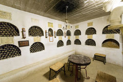 Small Wine Cellar Royalty Free Stock Photography