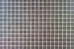 Small wire fence black color of radiator as square shape backgro Royalty Free Stock Photography