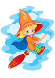 Small witch Stock Photo