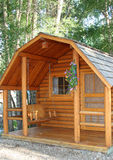Small Wood Cabin Stock Photography