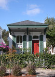 Small wooden house in New Orleans Royalty Free Stock Image