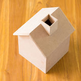Small wood house model Royalty Free Stock Photo