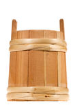 Small wooden barrel Stock Images