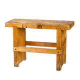 Small wooden bench Stock Photography