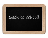 Small wooden blackboard Stock Photo