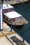 Small wooden boats in Bosphorus, Istanbul,Turkey. Small wooden boats in Bosphorus, Istanbul,Turkey Stock Photography