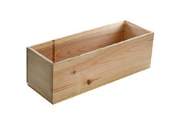 Small wooden box Stock Image