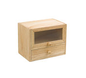 Small wooden cabinet Stock Photos
