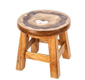 Small wooden chair Stock Photos