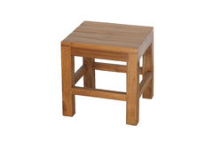 Small wooden chair. Royalty Free Stock Photos