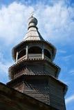 Small wooden church. In Novgorod region, Russia Royalty Free Stock Photos