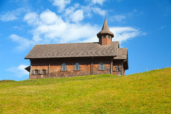 Small wooden church Stock Images