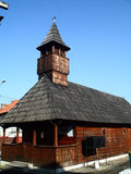 Small wooden church Royalty Free Stock Photography