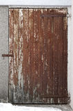 Small wooden door 001 Royalty Free Stock Images