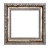Small wooden frame with thick border Royalty Free Stock Image