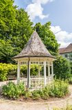 Small wooden gazebo in Bad Tolz, Bavaria, Germany Stock Images