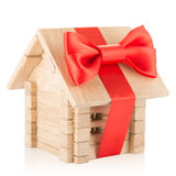 Small wooden house Royalty Free Stock Image