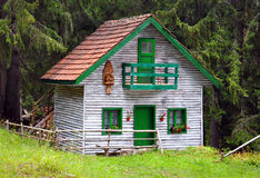 small wooden house Royalty Free Stock Images